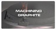 Machining Graphite with Diamond Coated Tools